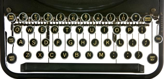 bigstock-Vintage-typewriter-keyboard-b-26089472