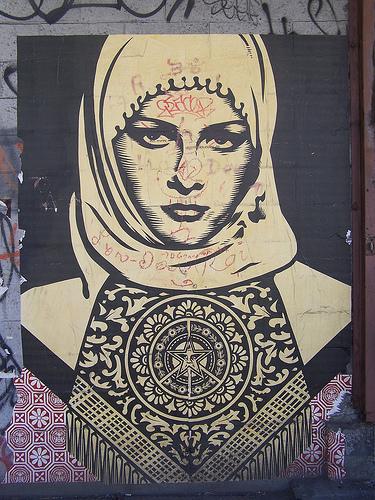 street art hijab