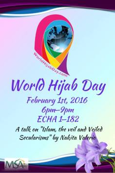 world hijab day poster
