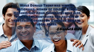 Diversity Wins in US election are Worth a SmallCelebration